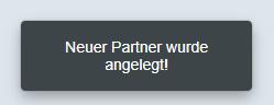 SAP Fiori - Geschäftspartner erfolgreich angelegt