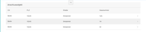 SAP Fiori - Gefilterte Ergebnisliste