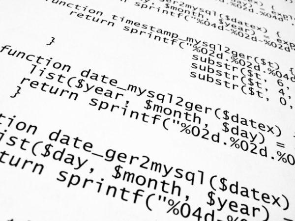 Ausschnitt von Code für Testfallerstellung