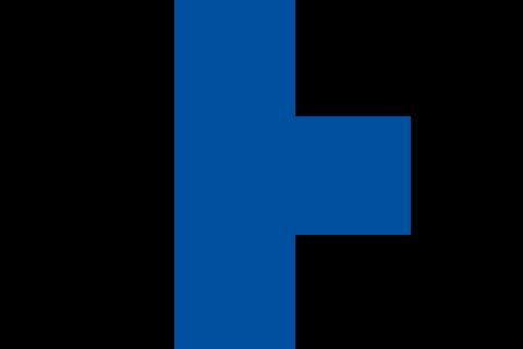 Blaues Kreuz der Kindernothilfe