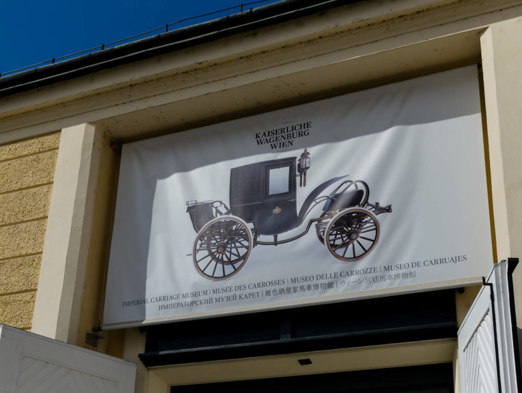 The Imperial Carriage Museum in Vienna