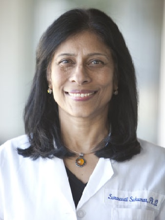 Dr. Saraswati Sukumar contributes to the fight against cancer.
