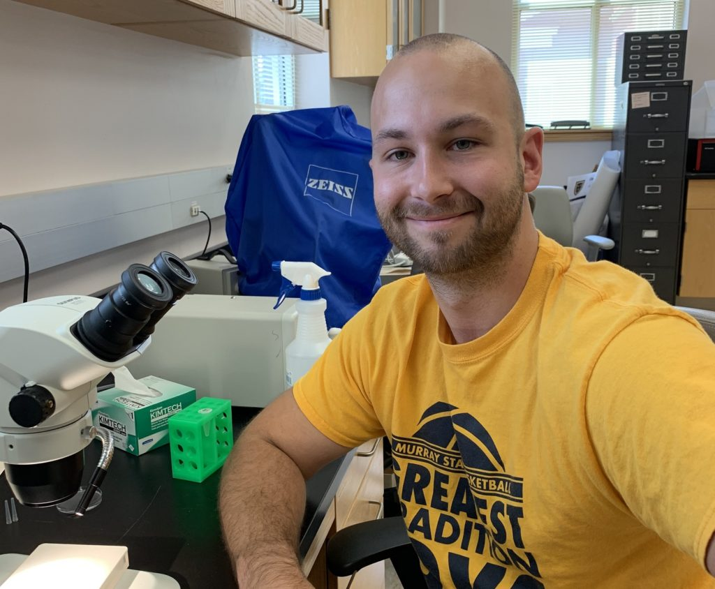 Jake Tindell, Graduate Student in the Arkov Lab