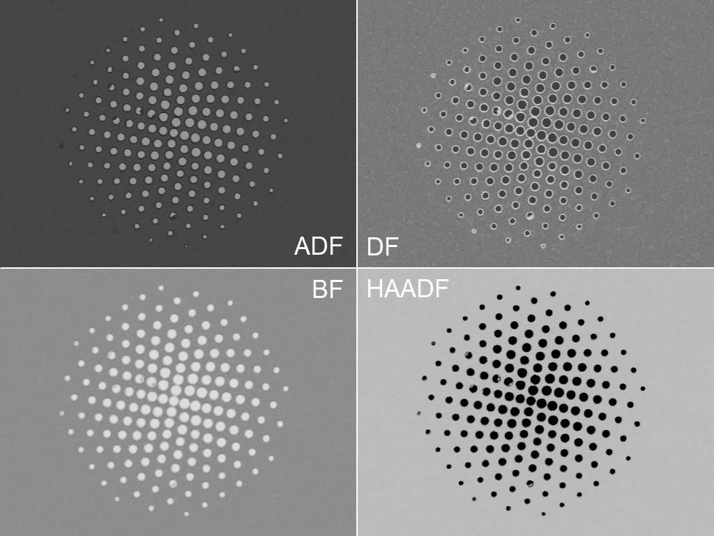 FESEM Electron Driven Photon Sieves