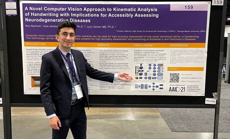 Ron Nachum at the Alzheimer's Association International Conference (AAIC) in Denver