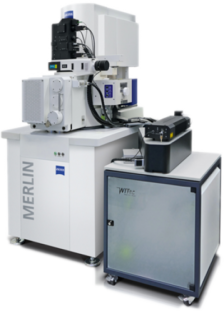 WITec RISE Mikroskop mit ZEISS MERLIN FE-SEM