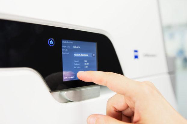 ZEISS Celldiscoverer 7 Touchscreen-Bedienung