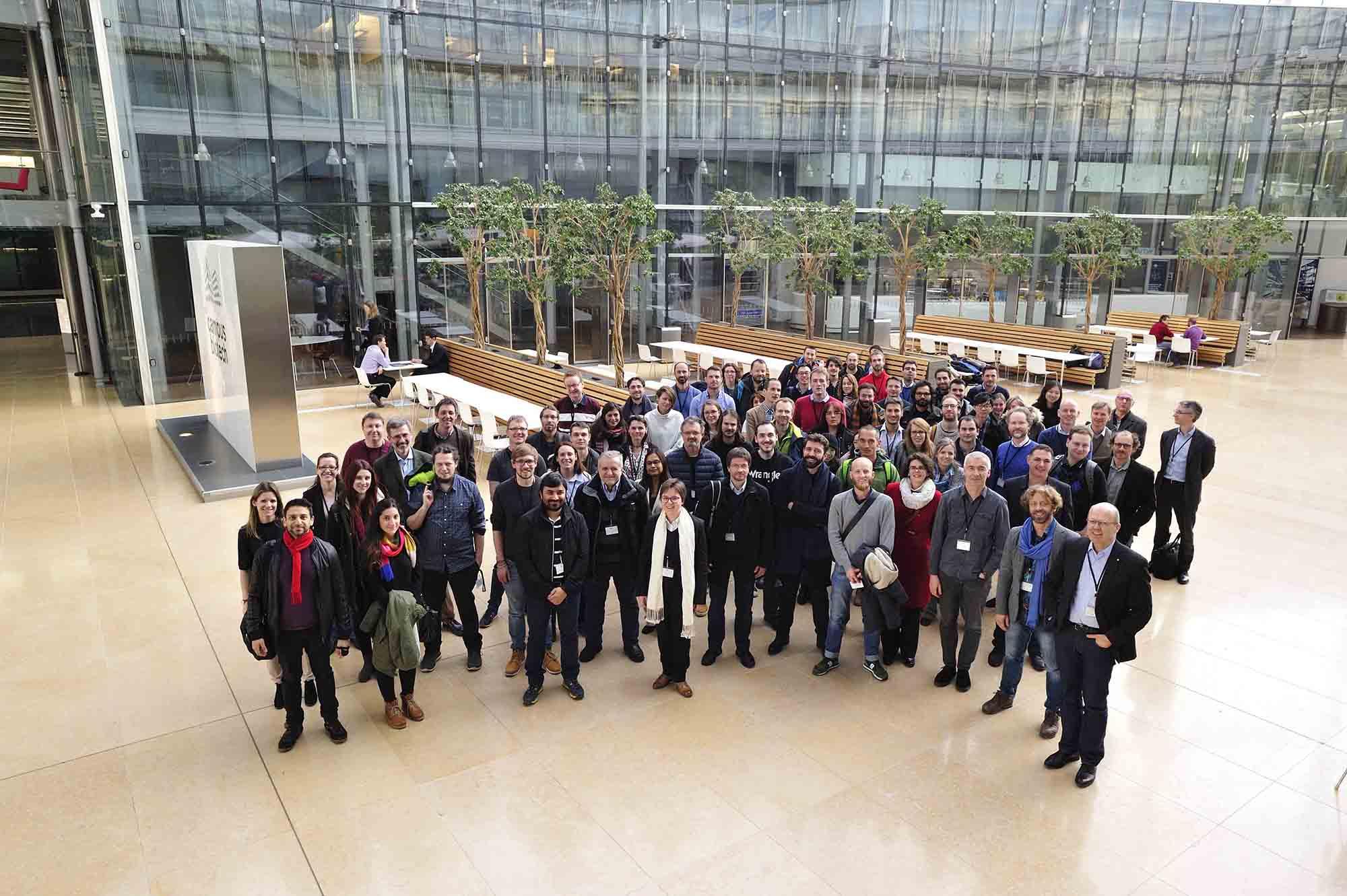 Die Teilnehmer des Workshops im Wyss Center in Genf blicken auf eine gelungene Veranstaltung zurück.