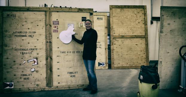 ZEISS Xradia transport box at Fraunhofer EMB. Courtesy of Daniel Rapoport.