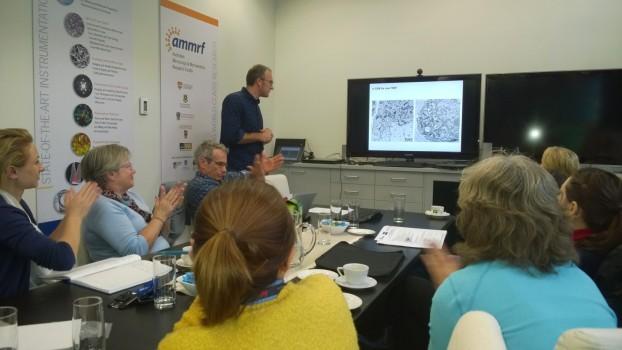 ZEISS & RMC-Boeckeler Array Tomography Workshop in Cranberra