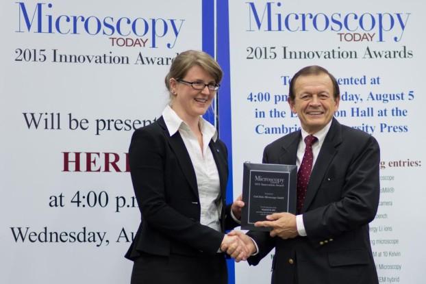 Microscopy Today Innovation Award for ZEISS MultiSEM 505