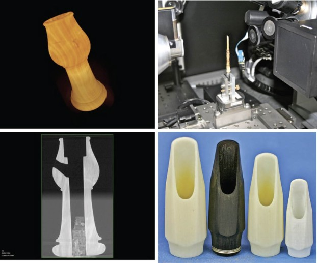 Digital evaluation and replication of period wind instruments: the role of micro-computed tomography and additive manufacturing. Early Music, Oxford Journals 2014