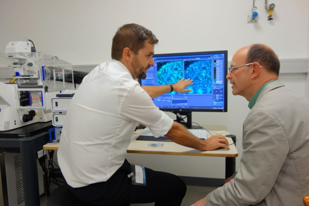 LSM 800 instrument demonstration with with Christoph Bauer, Head of BioImaging Center, Geneva University