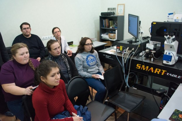 Training the students and scientists with ZEISS LSM 780 NLO at Tomsk State University, Russia