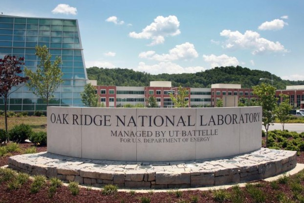 Entrance to ORNL's main campus. Courtesy of ORNL Press & Media Office, 2016.