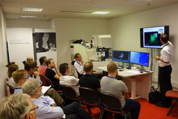 ZEISS Crossbeam live demonstrations at EMC2016