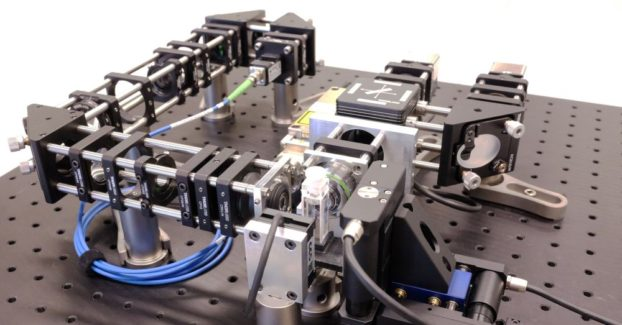 eduSPIM optical setup. Courtesy of Wiebke Jahr/MPI-CBG, Dresden, Germany.
