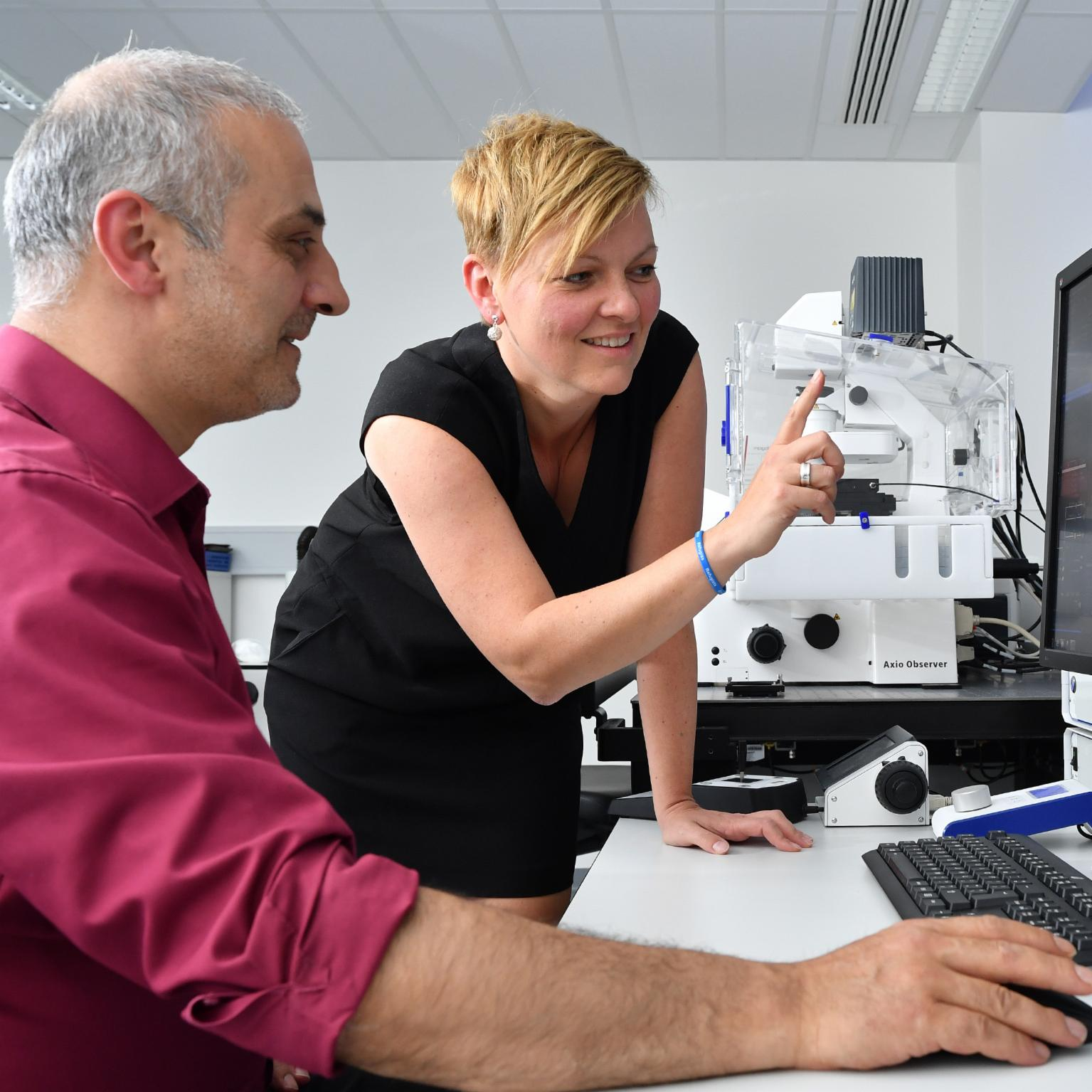"""I am impressed time and again by the many applications of microscopy"""