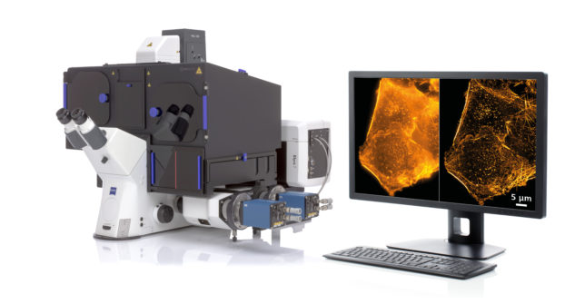 ZEISS Elyra 7 with Lattice SIM is the new flexible platform for fast and gentle 3D superresolution.