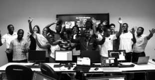 The participants of the microscopy and image analysis course at University of Ghana showed a great level of enthusiasm.