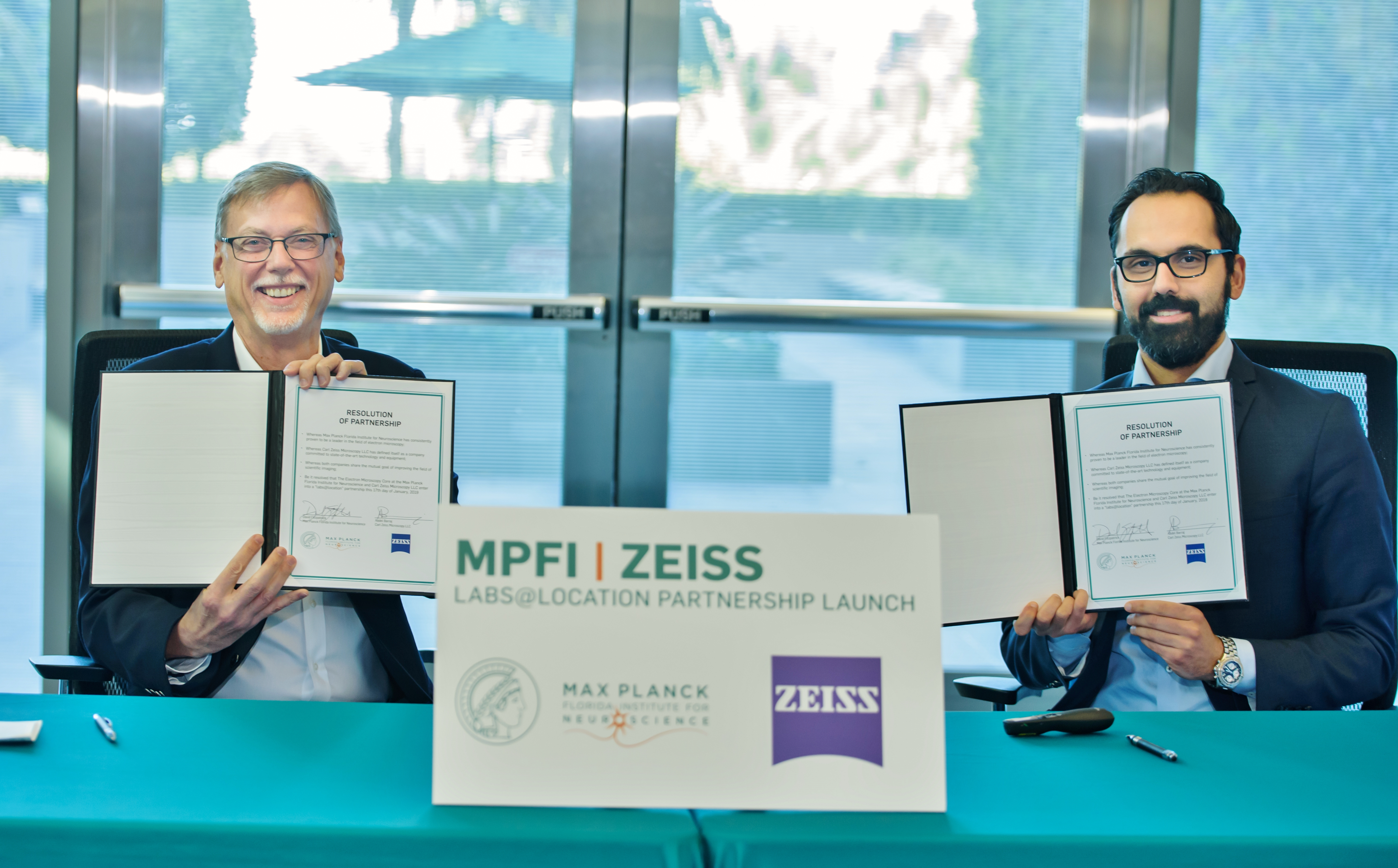 "MPFI and ZEISS launched ""labs@location"" partnership"