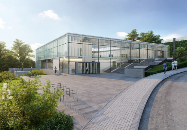 Rendering of the new EMBL Imaging Centre