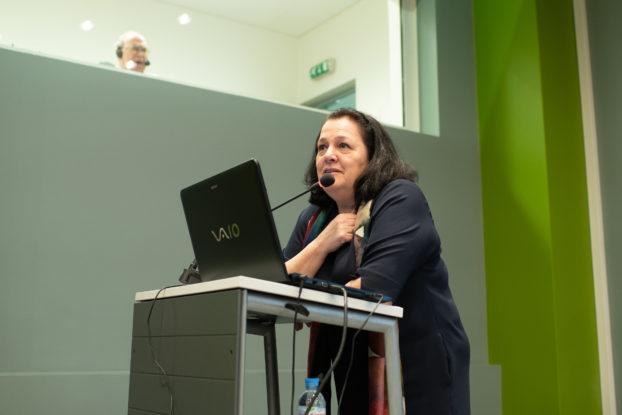 Svetlana B. Adaksina at the Art of Restoration conference